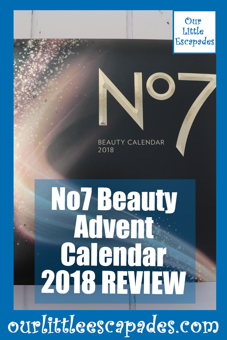 No7 Beauty Advent Calendar 2018 REVIEW