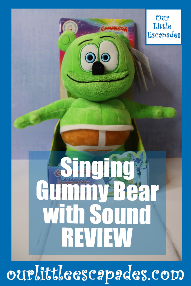 Singing Gummy Bear with Sound REVIEW