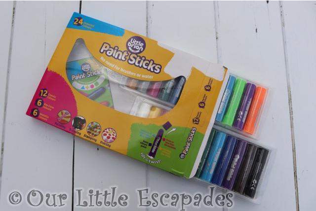 little brian paint sticks 24 pack