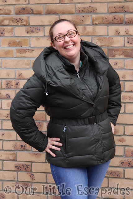 monsoon laurel belted shawl padded winter coat for the school run