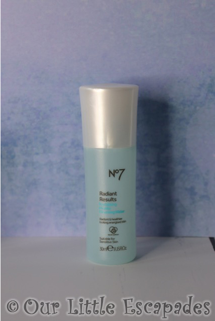 no7 beauty advent calendar No7 Radiant Results Revitalising Micellar Cleansing Water
