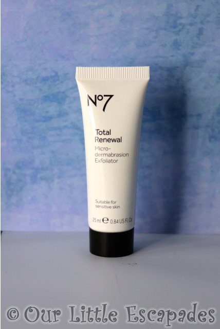 no7 beauty advent calendar No7 Total Renewal Micro Dermabraision Exfoliator