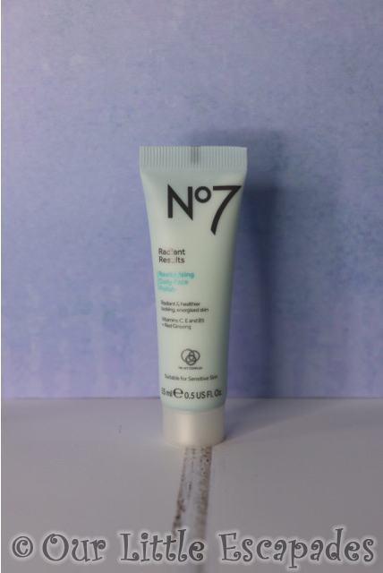 no7 beauty advent calendar no7 Radiant Results Revitalising Daily Face Polish