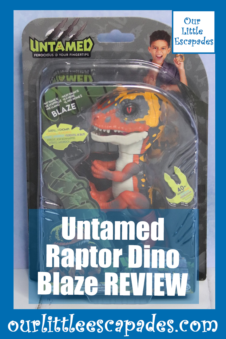 untamed by Fingerlings Raptor Dino Blaze REVIEW