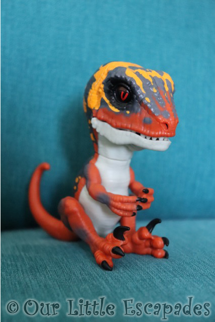 untamed fingerlings raptor dino blaze