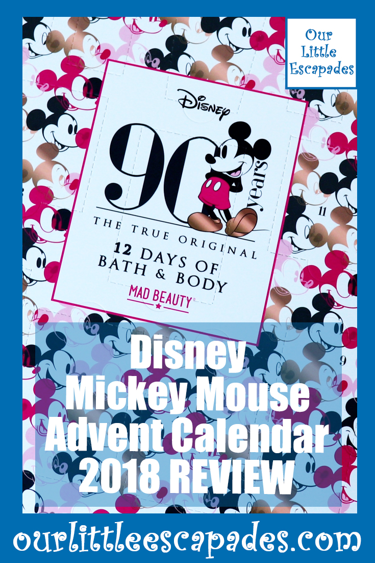 Disney Mickey Mouse Advent Calendar 2018 REVIEW