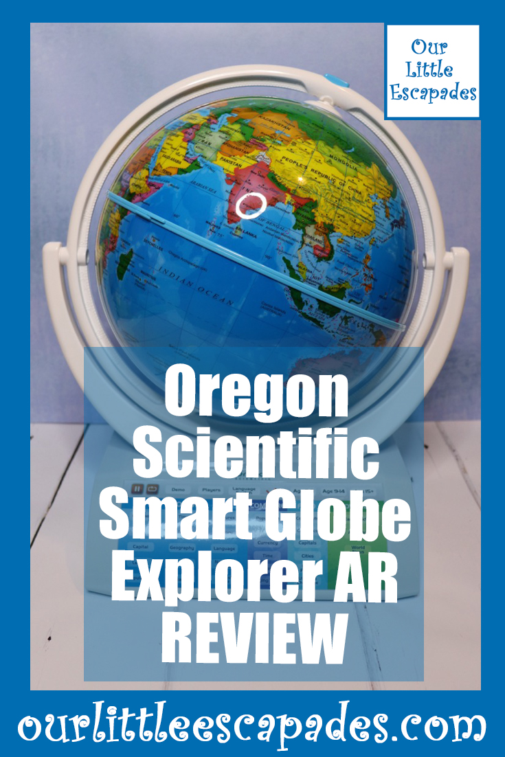 Oregon Scientific Smart Globe Explorer AR REVIEW