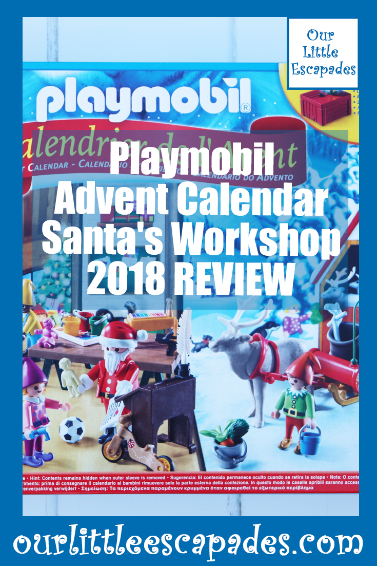 Playmobil Advent Calendar Santas Workshop 2018 REVIEW