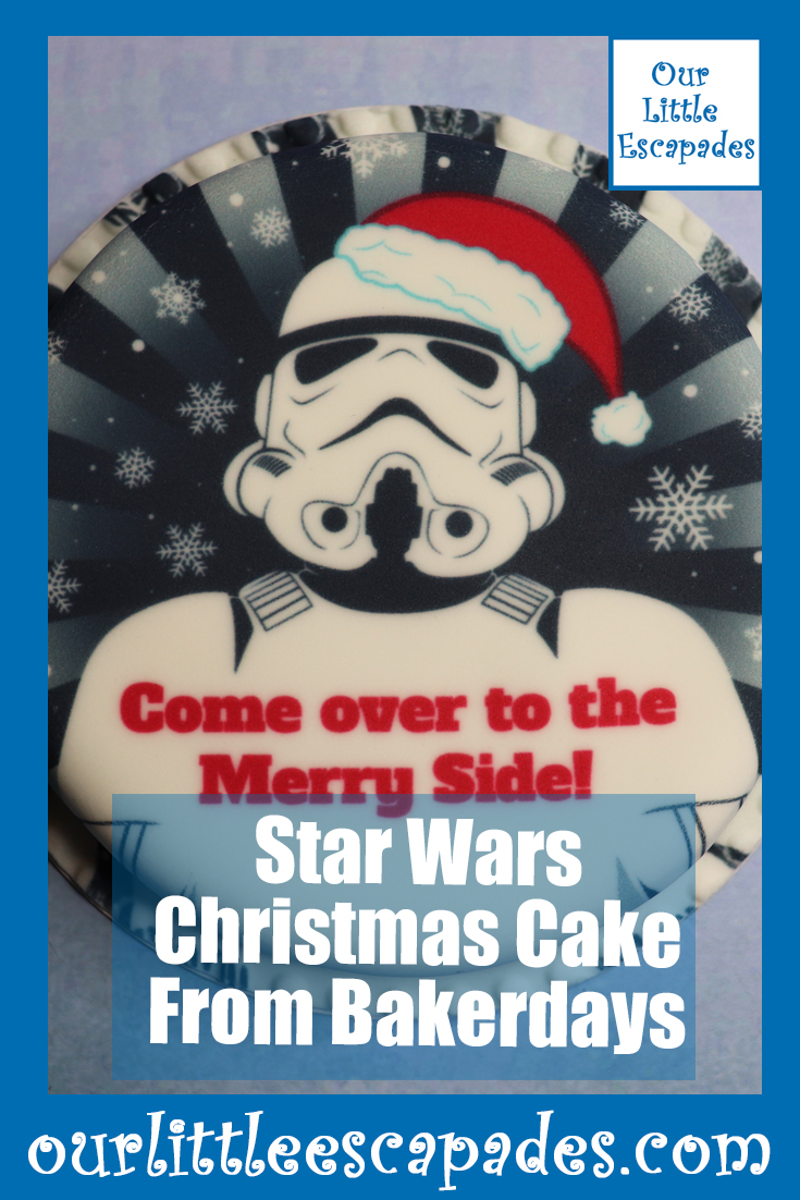 Star Wars Christmas Cake From Bakerdays