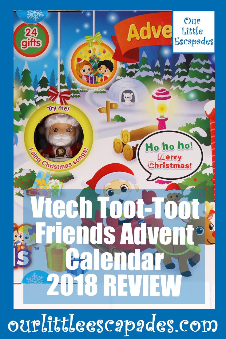 Vtech Toot Toot Friends Advent Calendar 2018 REVIEW