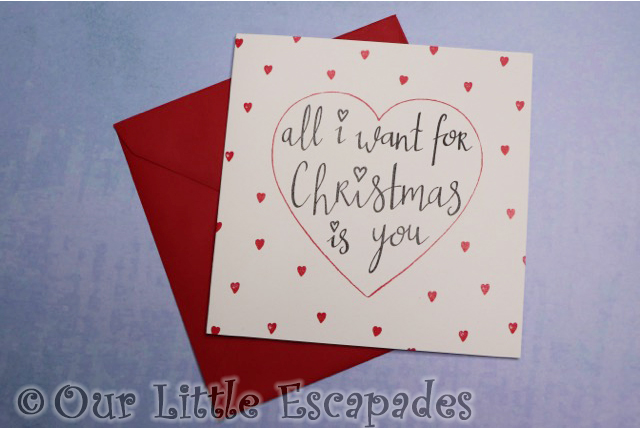 christmas cards kio cards all i want for christmas