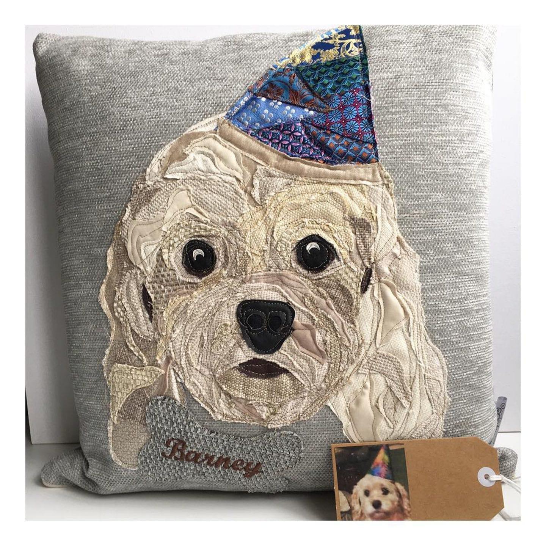 christmas gifts her cushy paws cushion barney