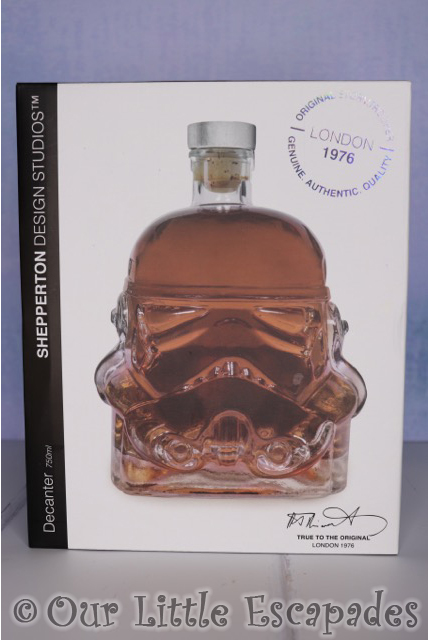 christmas gifts him stormtrooper decanter boxed