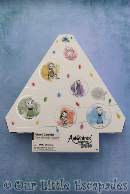 disney animators collection advent calendar