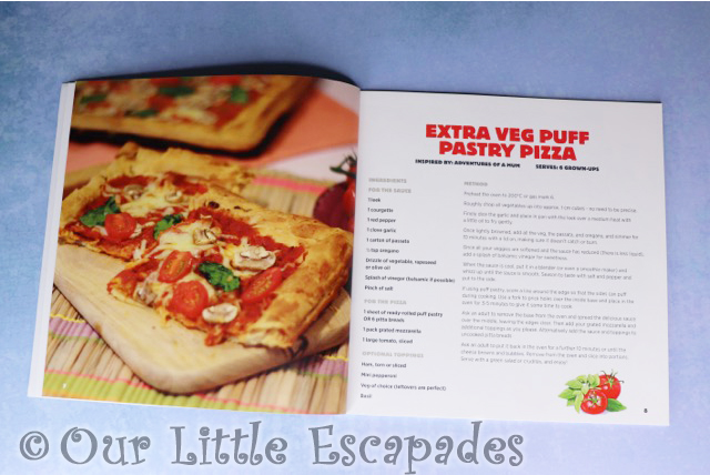 learn to cook with billy the bear extra veg puff pastry pizza