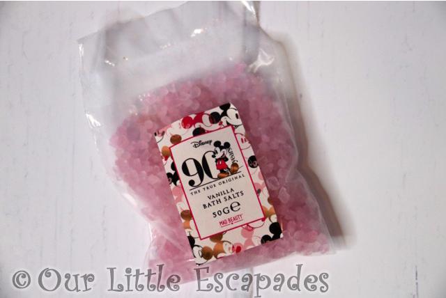 mickey mouse advent calendar vanilla bath salts