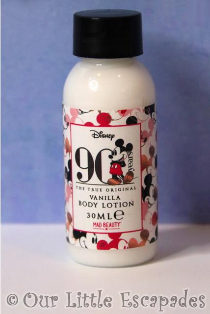 mickey mouse advent calendar vanilla body lotion