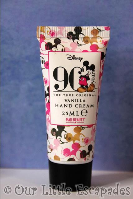 mickey mouse advent calendar vanilla hand cream