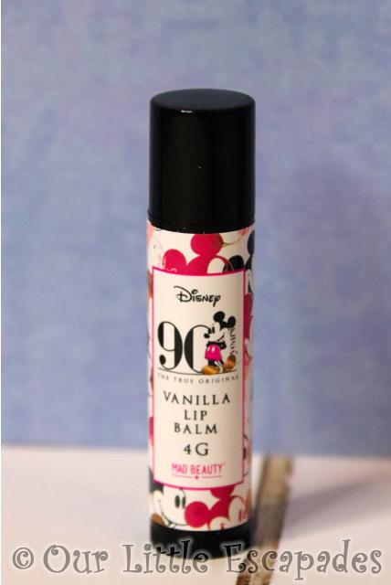 mickey mouse advent calendar vanilla lip balm