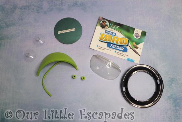 my living world window bird feeder kit