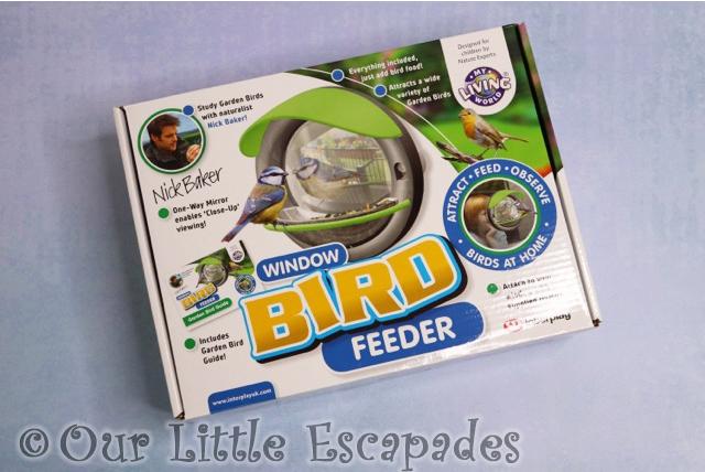 my living world window bird feeder