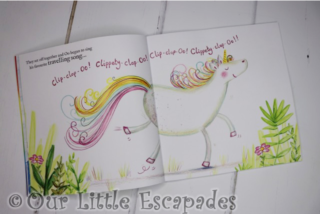 personalised childrens books bang on books unicorn oo inslide