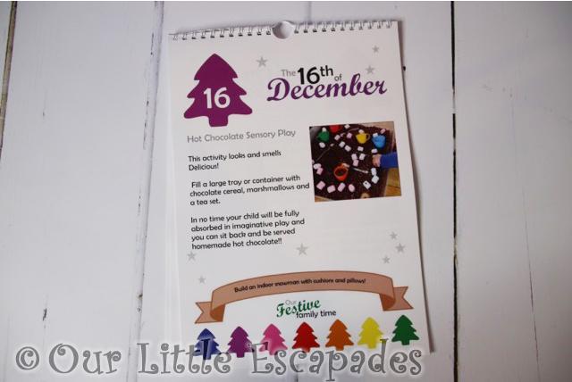 play hooray play prompts christmas calendar hot chocolate sensory play