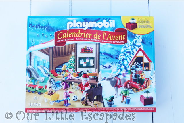 playmobil advent calendar santas workshop
