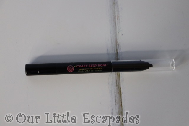 soap glory advent calendar crazy sexy kohl eyeliner smoulder