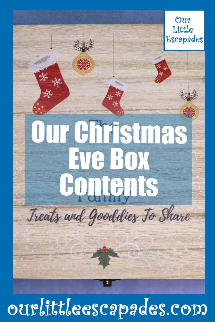 Our Christmas Eve Box Contents