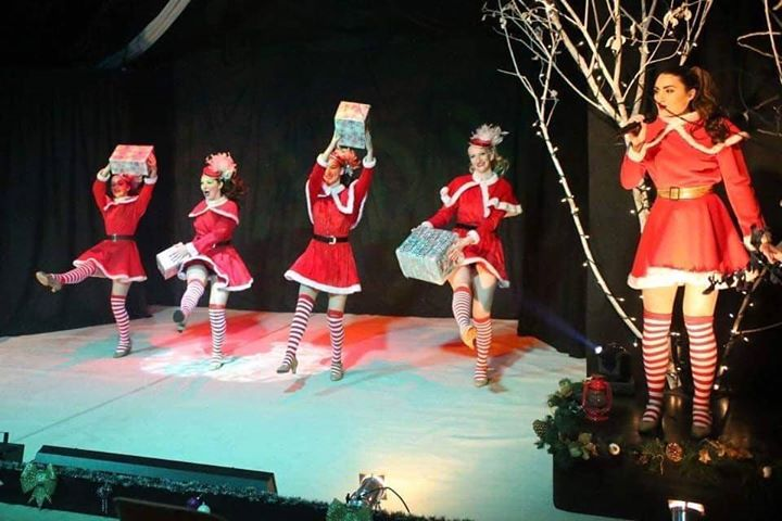 christmas spectacular show stonham barns suffolk dancers