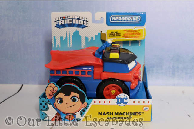 herodrive mash machines superman