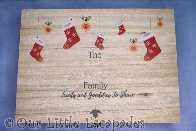 magic santa letter personalised christmas eve box family goodies