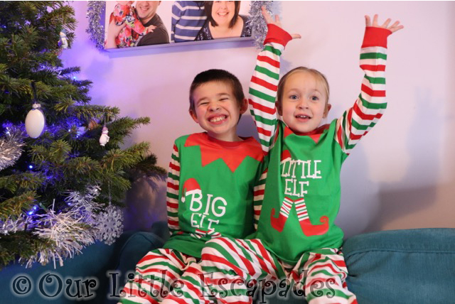matching christmas pyjamas children