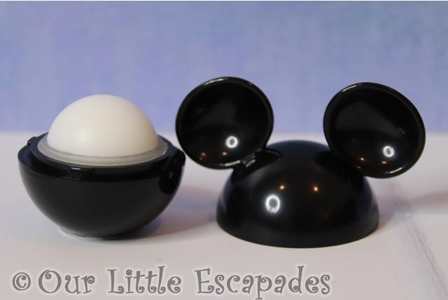 mickey mouse lip balm open