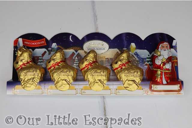our christmas eve box contents lindt santa sleigh