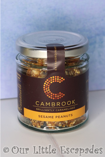 virginia hayward snowdrift hamper cambrook brilliantly caramelised sesame peanuts