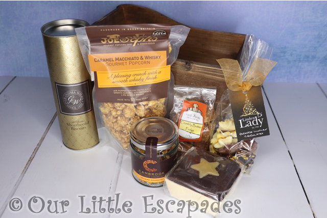 virginia hayward snowdrift hamper contents