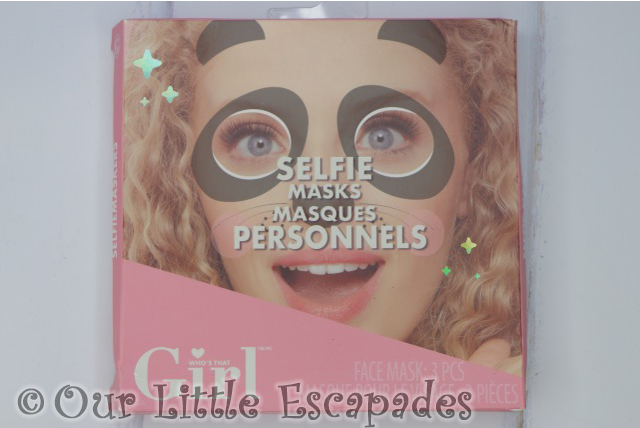 whos that girl selfie masks