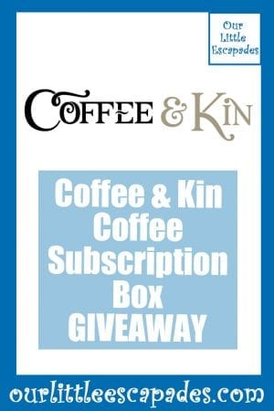 Coffee Kin Coffee Subscription Box GIVEAWAY