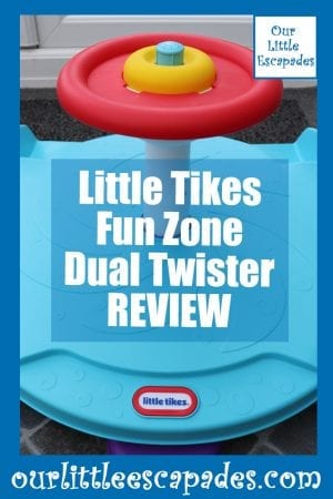 Little Tikes Fun Zone Dual Twister REVIEW