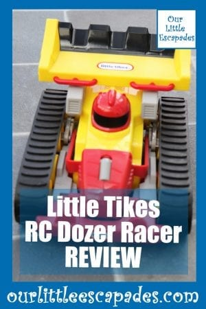 Little Tikes RC Dozer Racer REVIEW