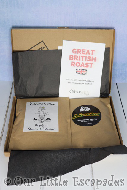 coffee and kin great british roast coffee subscription box valentines day gift ideas
