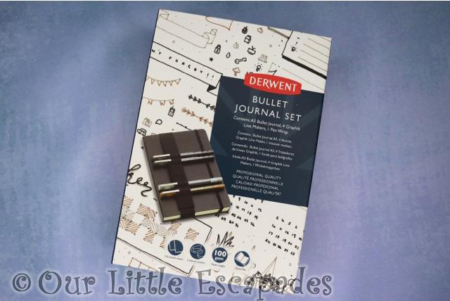 derwent bullet journal set a5 valentines day gift ideas