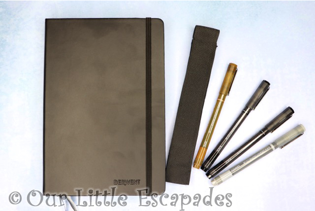 derwent bullet journal set graphik line makers elastic closure valentines day gift ideas
