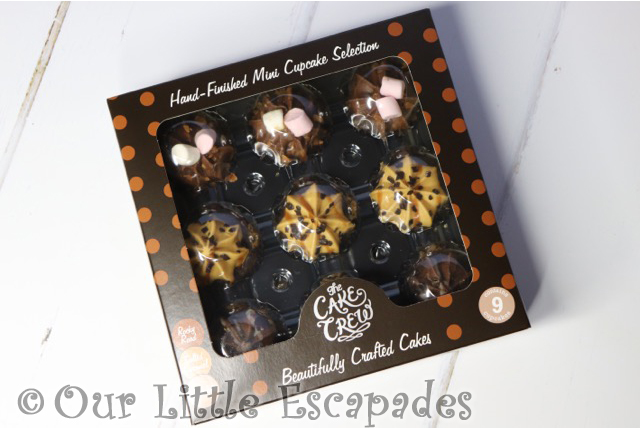 the cake crew assorted mini cupcake selection chocolate boxed