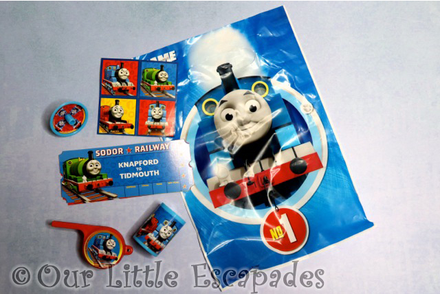thomas the tank engine birthday party pack pre-filled party bags