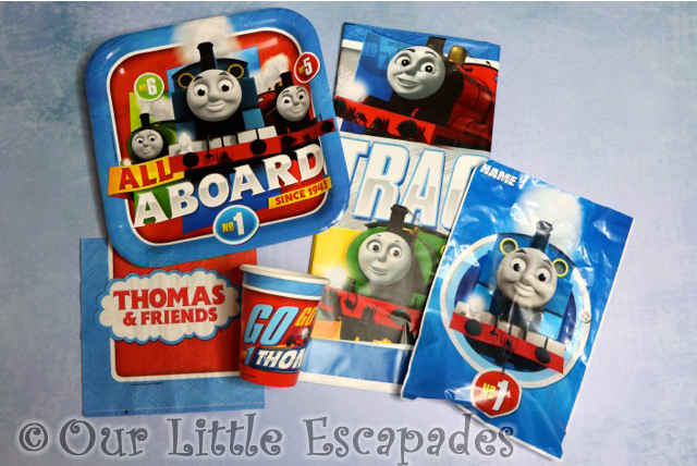 thomas the tank engine birthday party pack
