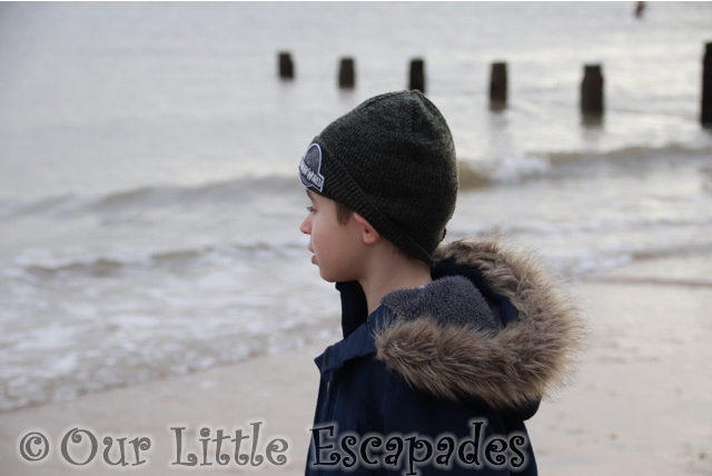 visiting frinton on sea on new years day ethan