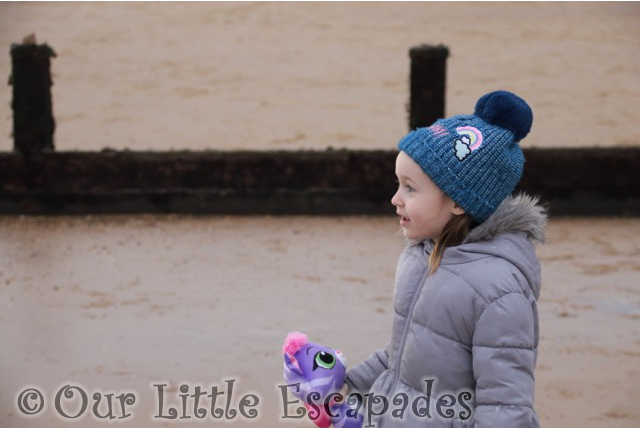 visiting frinton on sea on new years day little e